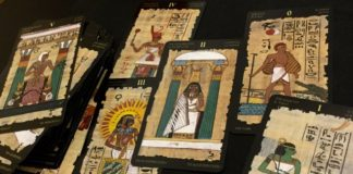 tarot card egypt