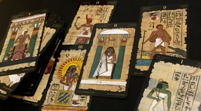 tarot card egypt